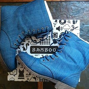 Denim Boots!